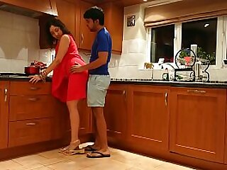 Family scandal fucked a catch sister in law while fellow-citizen was away added to cum on tits
